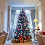 Christmas tree at Longueville manor Jersey